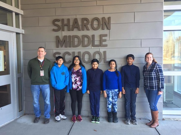 Sharon Middle Schoolers Are National Finalists In Verizon App Challenge