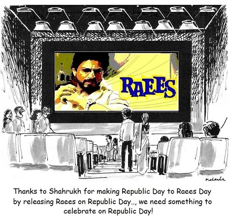 Cartoon: Raees