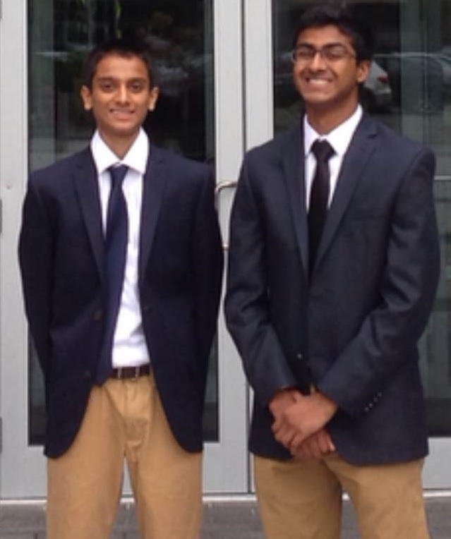 Vikram Pathalam & Varun Swamy Win MA State Science And Engineering Fair