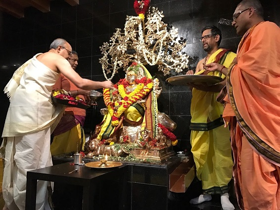 New Deities Consecrated  At The  Hindu Temple Of New Hampshire