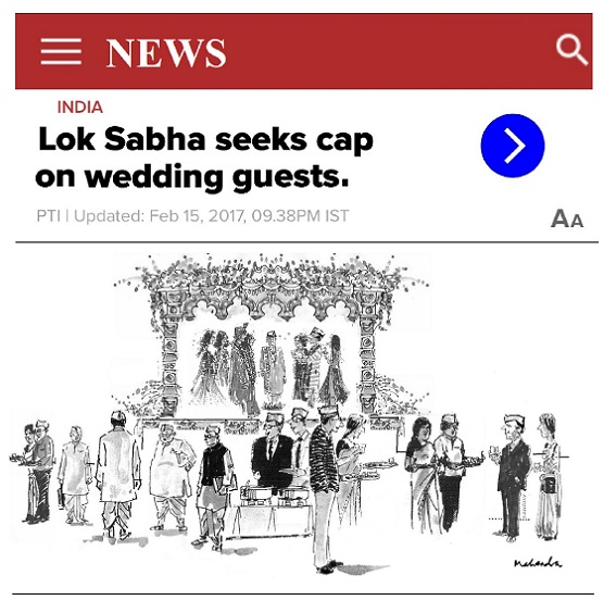 Cartoon: Wedding Cap
