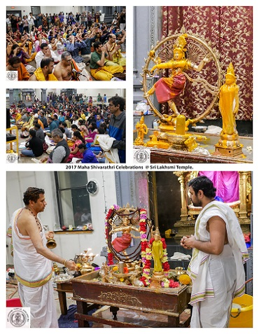 Maha Shivaratri Celebrations At Sri Lakshmi Temple