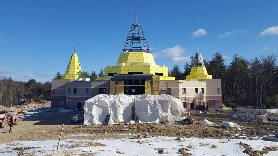 Grand Opening Of Largest Sai Temple In Summer Of This Year