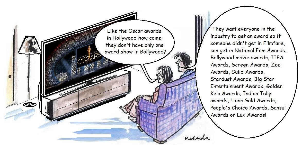 Cartoon: One Award Show!
