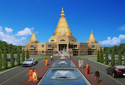 As NESSP Nears Completion Of Largest Sai Temple In North America<br>It Launches $500,000 National Fundraising Campaign