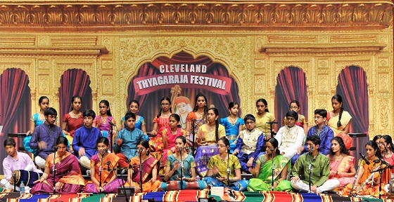 Boston Kids Continue To Shine In Cleveland Thyagaraja Aradhana 2017