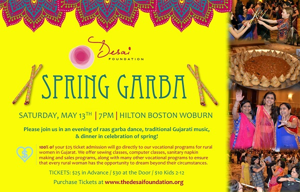 Desai Foundation To Host Spring Garba