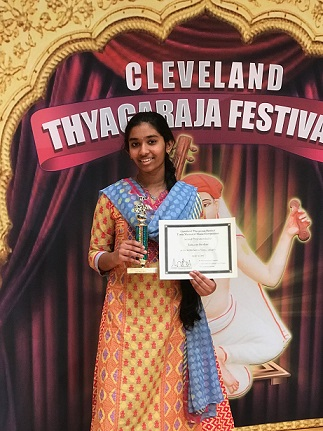 Boston Kids Shine In Cleveland Thyagaraja Aradhana 2017 - Part II