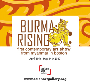 Asian Art Gallery Presents Burma Rising