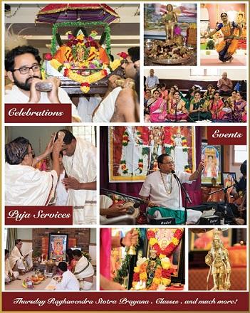 New England Shri Raghavendra Swami Brundavan  Celebrates Madhwa Navami