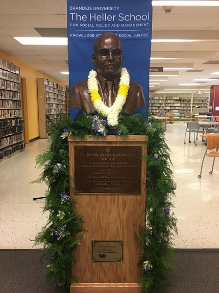 Dr. Ambedkar Bust Inaugurated In Boston, USA