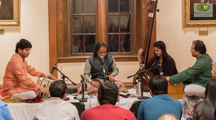 Pandit Dr Ram Deshpande Concert At Shadaj-Baithak