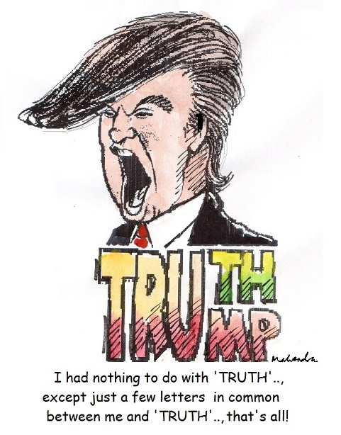 Cartoon: Trump And Truth