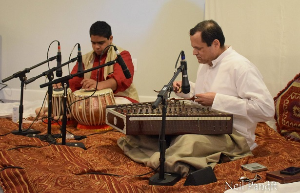 Scintillating Santoor And A Vibrant Vocal Performance Delighted KHMC Audience