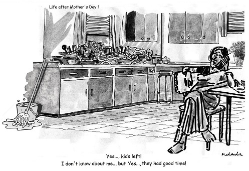 Cartoon: Life After Mother's Day