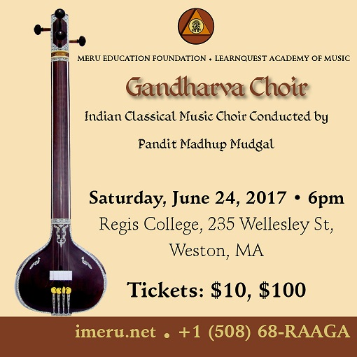 Gandharva Music Choir From India To Perform On June 24