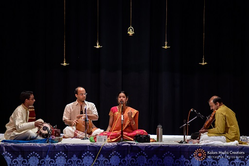 Vocal-Mridangam Arangetram Of Mahathi Athreya And Hari Shanmugam