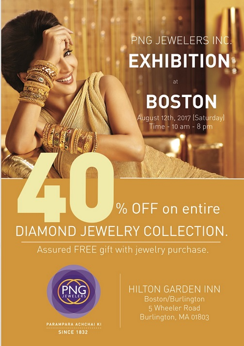 PNG Exclusive Jewelry Exhibition In Burlington, MA