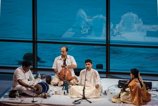 Impressive Carnatic Vocal Debut By Hari Narayanan