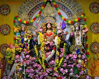 Navaratri / Durga Puja Celebrations At Sree Vijaya Kali Ashram