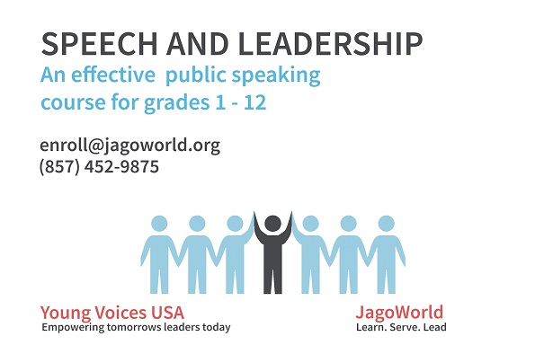 Speech And Leadership - Young Voices Club Admission Open House