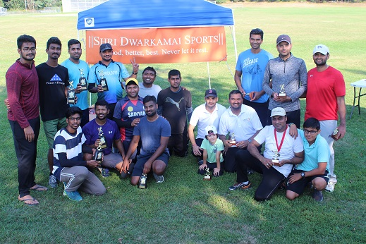 Shri Dwarkamai Sports Team Successfully Organized Their  Second Annual Cricket Tournament