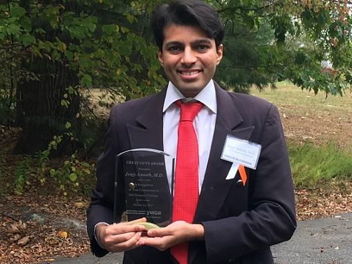 YWCA Presents Jonjy Ananth 2017 Great Guy Award