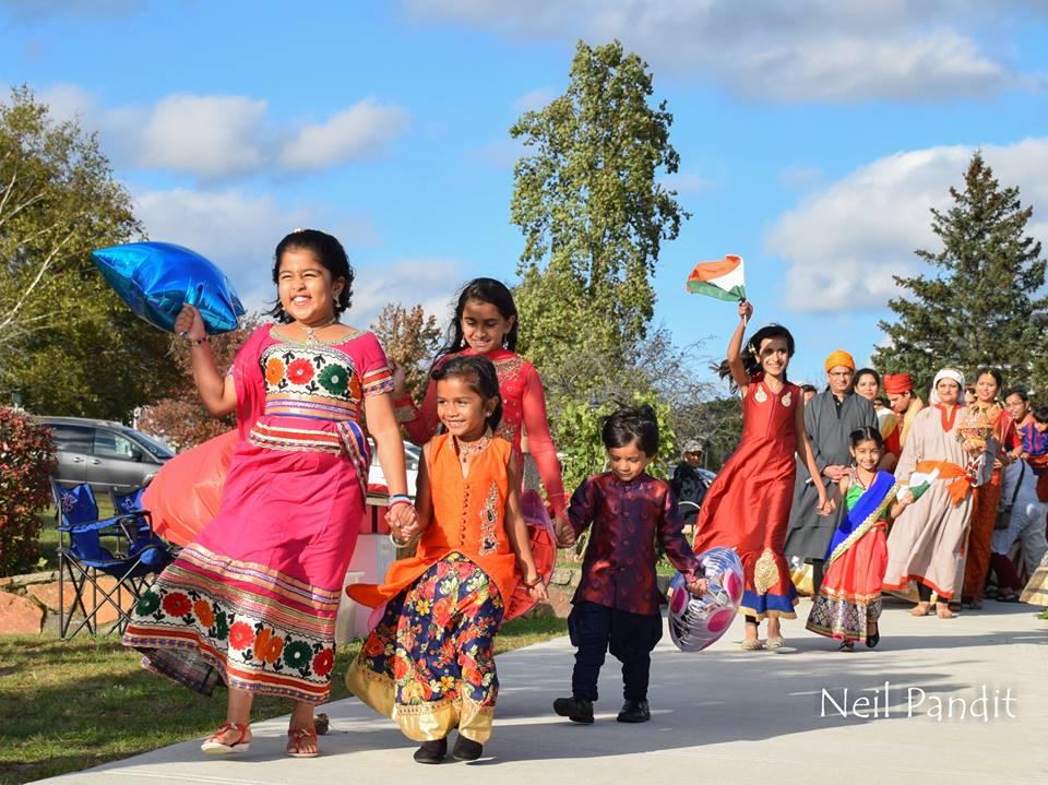 Historic Diwali Celebrations At Burlington Commons