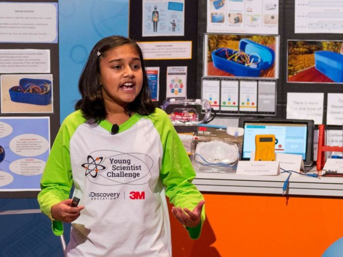 Gitanjali Rao Wins 2017 Young Scientist Challenge For Water Contamination Detection Device
