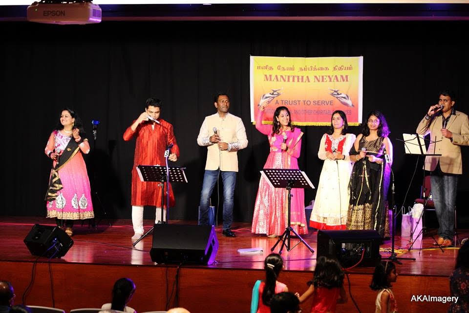 Deepavali Light Musical Treat Hosted By Manitha Neyam Trust