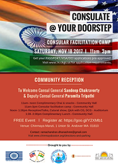Consulate@YourDoorstep - Consular Facilitation Camp In Massachusetts