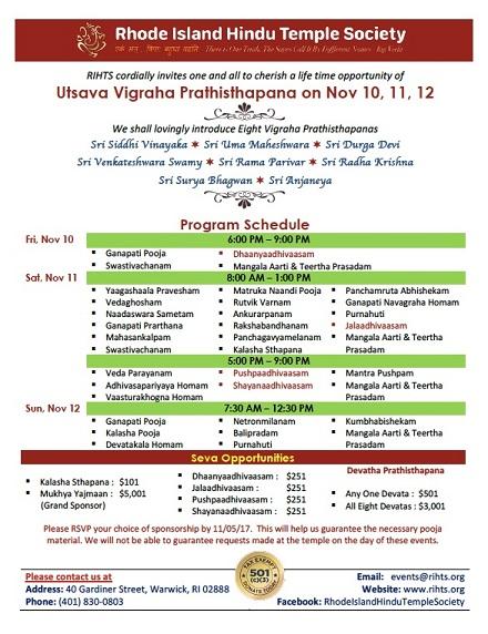 RIHTS: Utsava Vigraha Prathisthapana