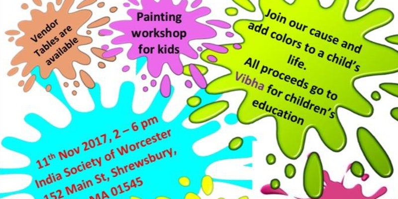 Paint To Educate - Vibha Holds A Workshop