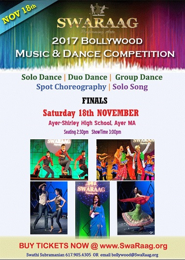 SwaRaag Bollywood Music & Dance Competition