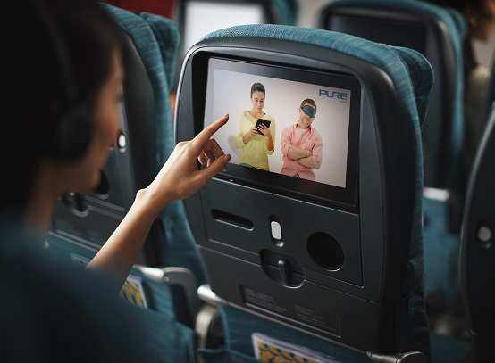 Cathay Pacific Airways Launches Inflight Yoga