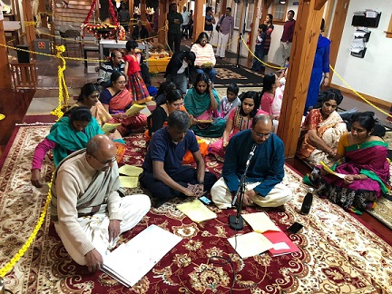 Maha Shivaratri At The Hindu Temple Of New Hampshire