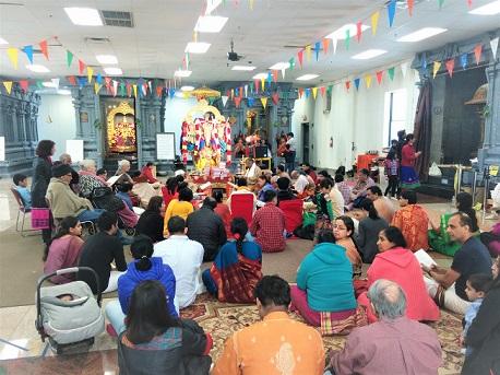 25th Anniversary Of Ramayana Reading At SriLakshmi Temple