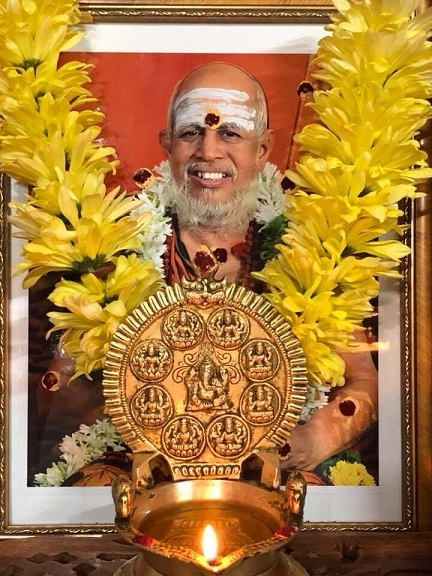 Shraddhaanjali For Pujyashri Jayendra Saraswati Swamigal At The Hindu Temple Of New Hampshire