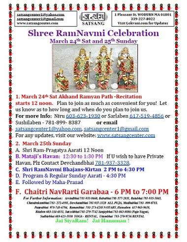 Ram Navmi At Satsang Center