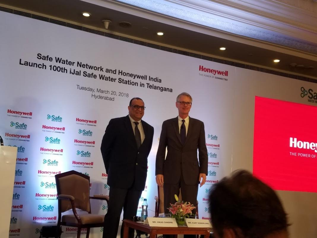 Safe Water Network And Honeywell Launch 100th Safe Water Station