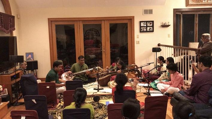 A Glimpse Of Thiruvaiyaru In Lexington, MA