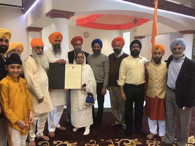 Commonwealth Of Massachusetts Declares April 14th As The Sikh Heritage Day