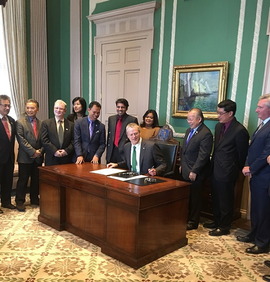 Gov. Baker Designates May As Asian American And Pacific Islander's Month