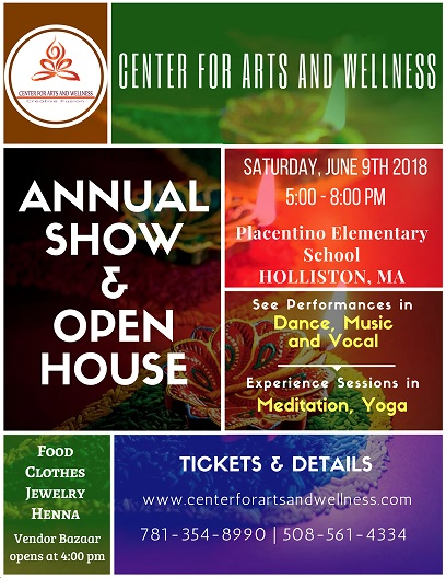 Annual Show & Open House At The Center For Arts And Wellness
