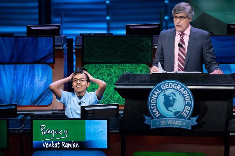 Indian American Teens Win Top Three Prizes In The 2018 National Geographic Bee
