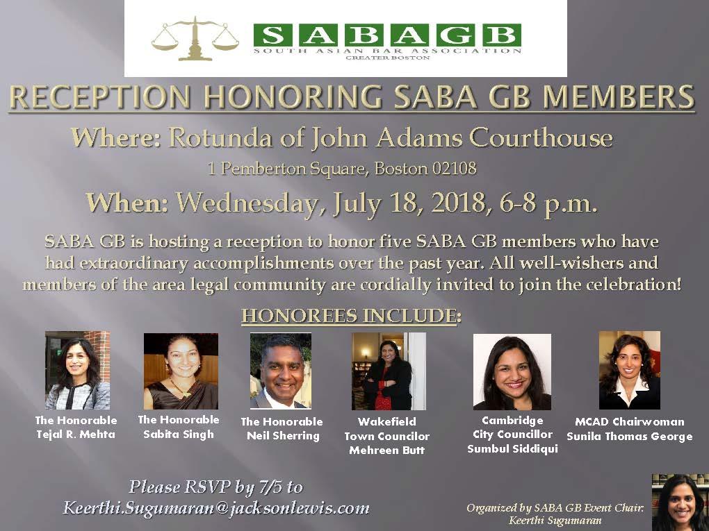 SABA Honors Accomplishments Of Members