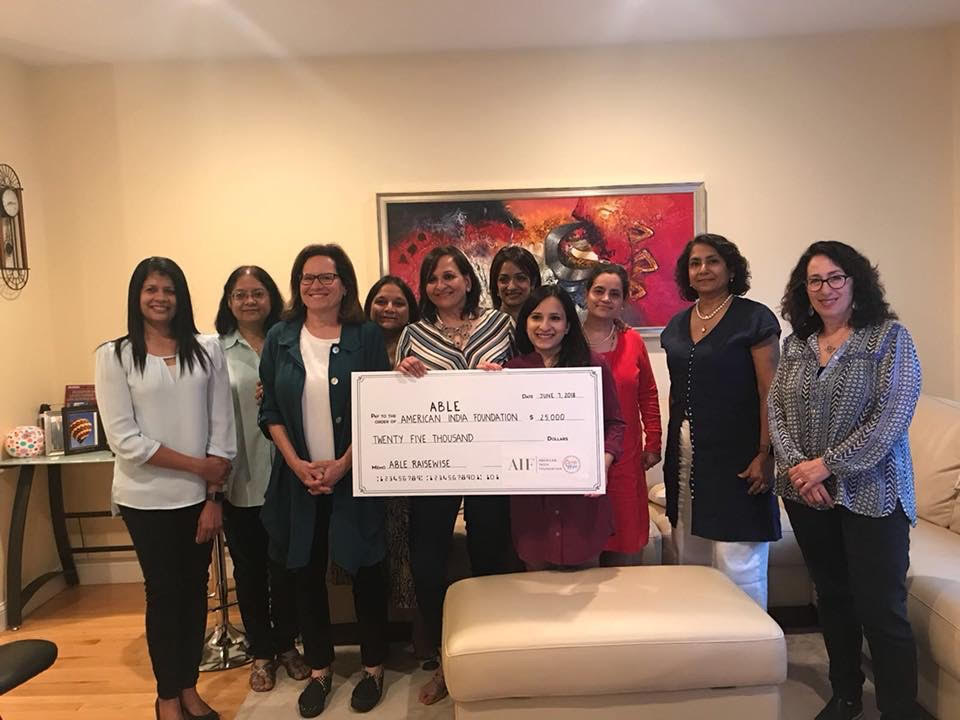 AIF Circle Of Hope Raises 25K For Women And Girls In India