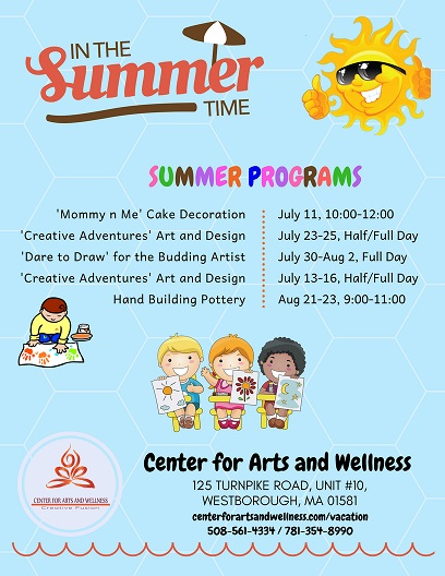 Summer Classes Full Of Creativity, Artistry And Fun!