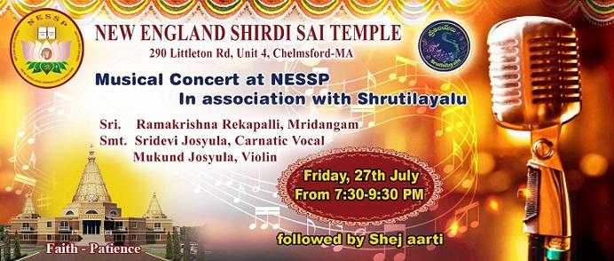 NESSP To Host Sridevi Josyula, Ramakrishna Rekkapalli And Mukund Josyula