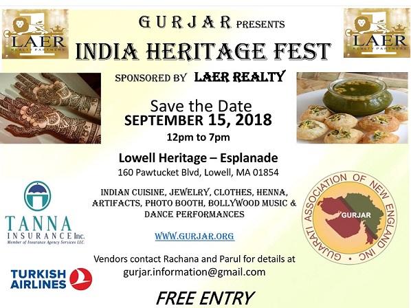 Gurjar's India Heritage Fest
